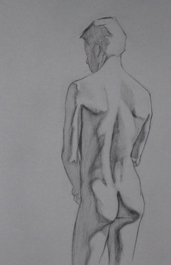 Transfer drawing for Oil painting