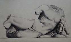 Charcoal Bargue Drawing