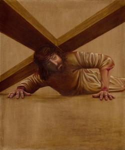 9 - Jesus falls a third time