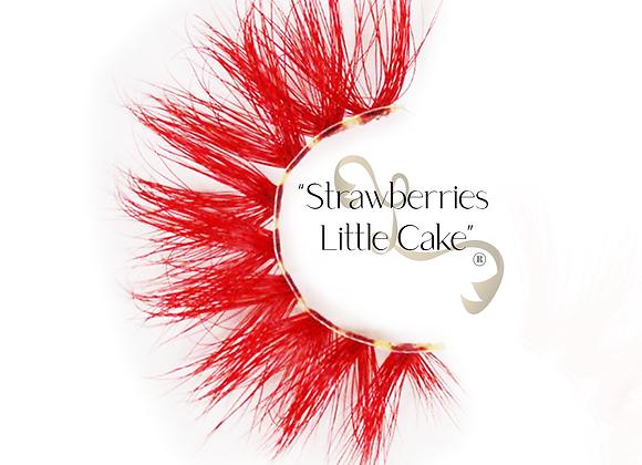 Lingerie Lashes®  Strawberries Little Cake