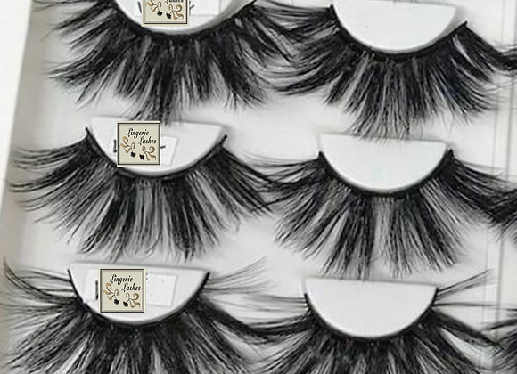 Wholesale | 25mm Faux Mink Lashes