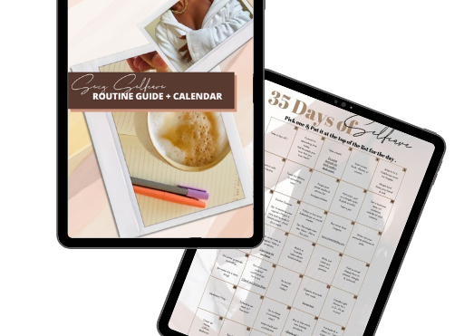 Lingerie Lashes® | Sexy Selfcare Guide + Calendar