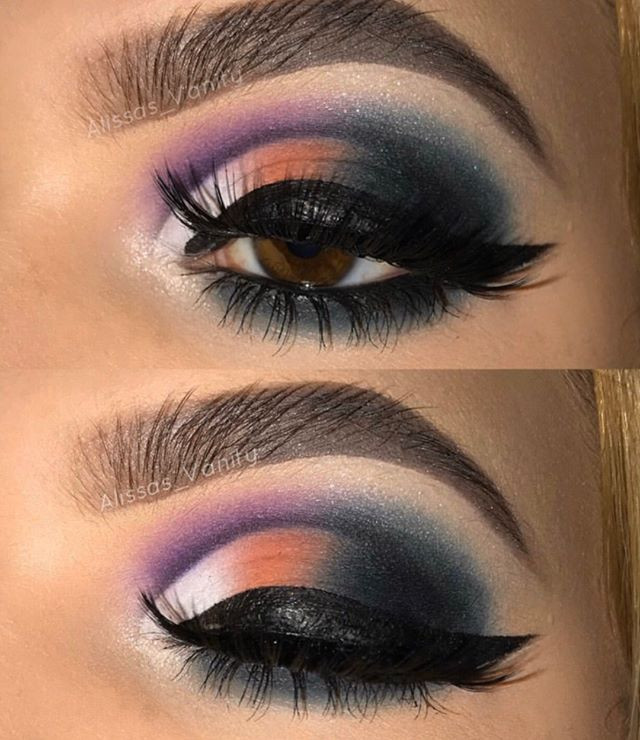 This exotic eye look is everything but t