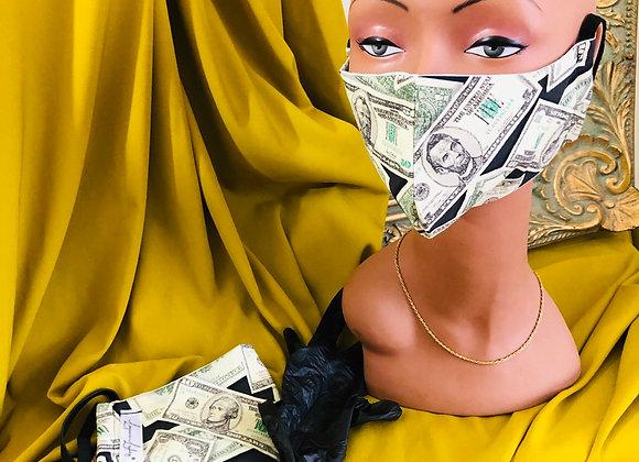 Lingerie Lashes®| Reusable Money Face Mask 😷