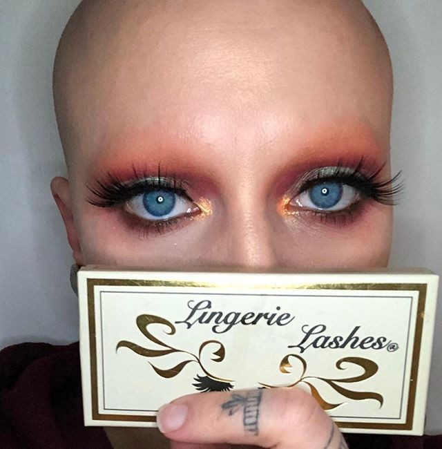 This Alopecia Beauty is striking and Sex