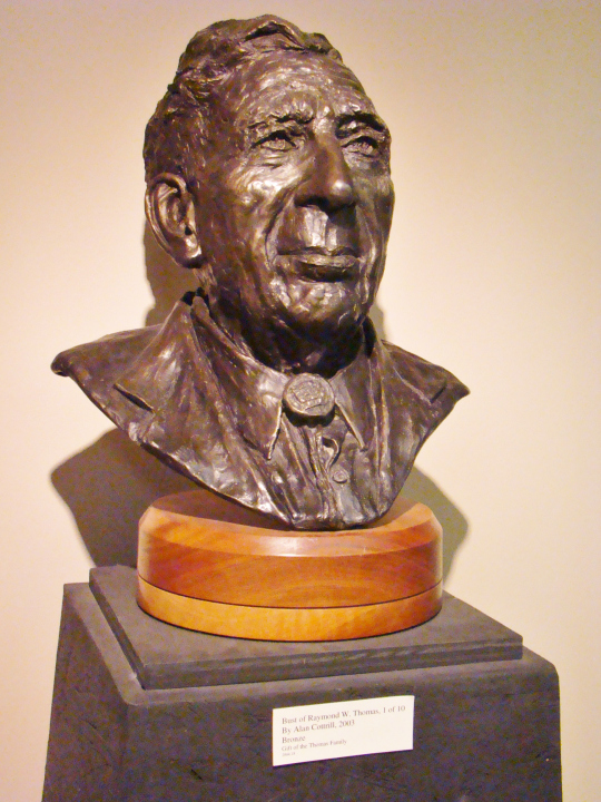 zma-bronze-bust