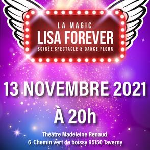 SOIREE DES 10 ANS LE 13 NOVEMBRE 2021 - A VOS RESERVATIONS !!! BILLETS EN VENTE DES MAINTENANT