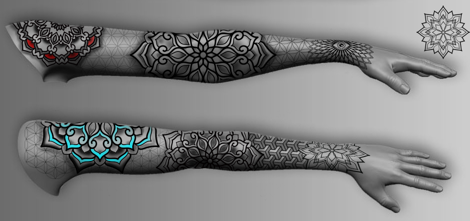 female arm ideas