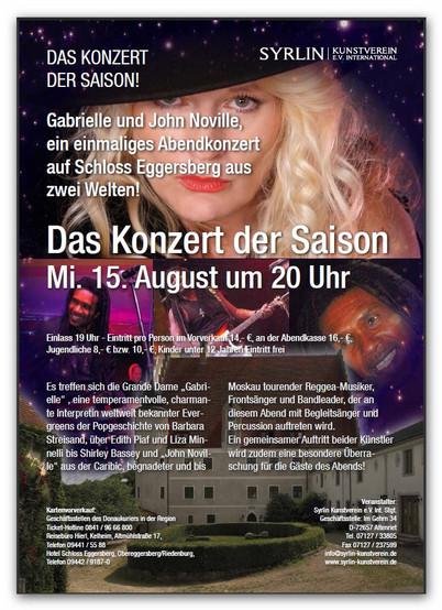 Konzert in Schloss Eggersberg