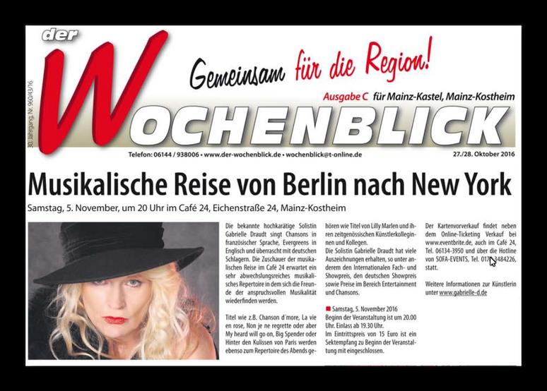 Wochenblick Mainz-Kostheim