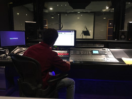 Experience as sound engineer