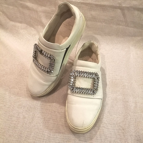 ROGER VIVIER(ロジェヴィヴィエ) 靴 ホワイト
