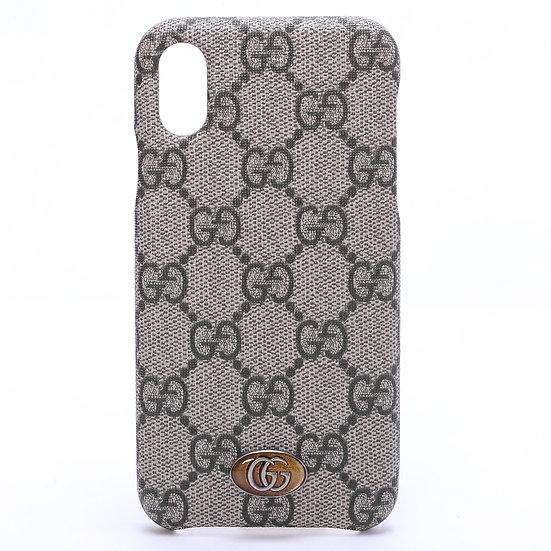 グッチ GGスプリーム オフディア iPhone X / XS ケース 587672 アイフォンケース GUCCI