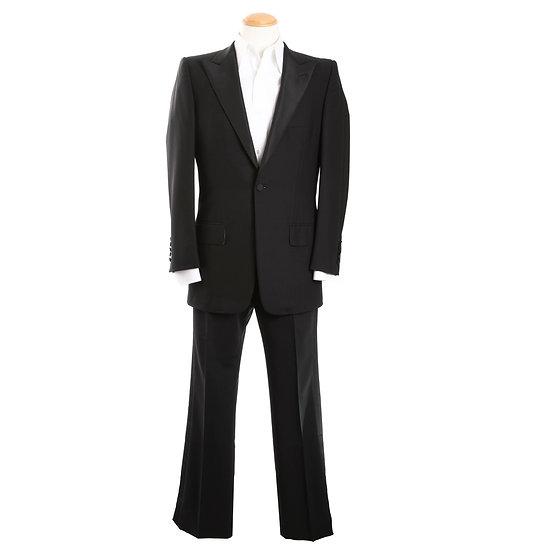 グッチ メンズ 礼服 フォーマル ブラック(黒) シングル 2つボタン GUCCI