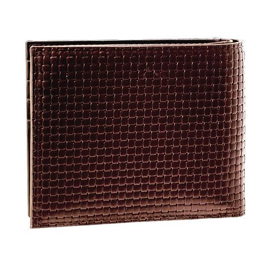エレガンス 財布 二つ折り 牛革 ブラウン Elegance