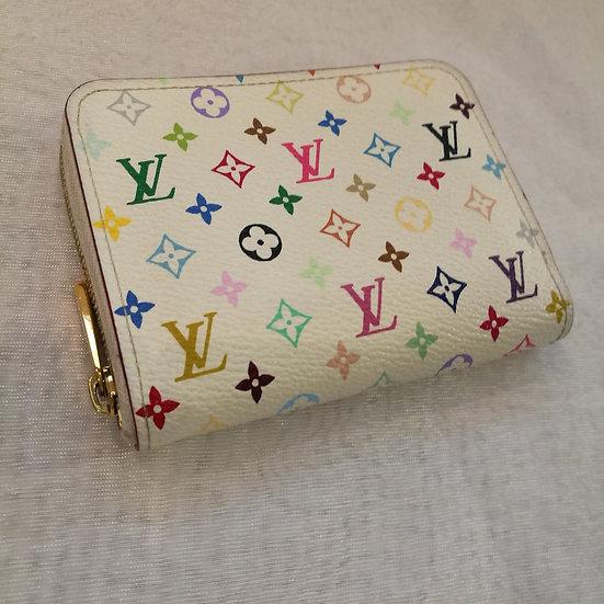【LOUIS VUITTON ルイヴィトン】M93741 モノグラム マルチカラー リッチ ジッピー・コイン パース 財布(コインケース)