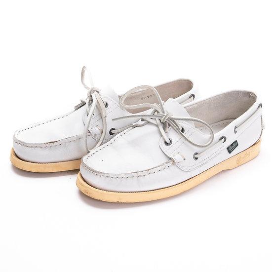 パラブーツ 靴 メンズ バース barth マリン marin ホワイト Paraboot