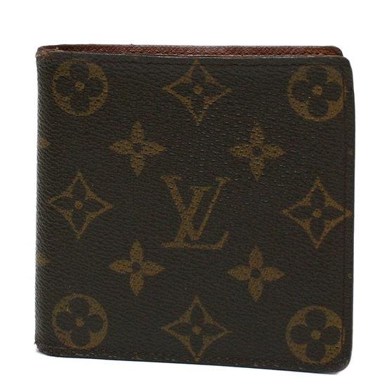 ルイ・ヴィトン 財布 二つ折り ポルト ビエ・カルト クレディ モネ M61665 モノグラム Louis Vuitton