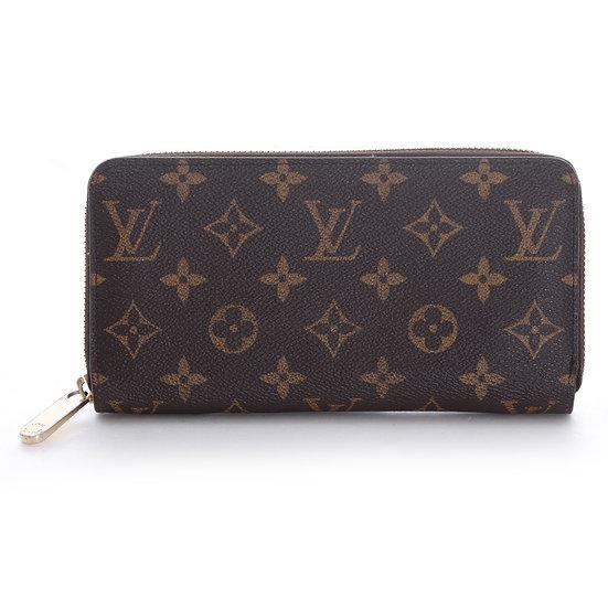 ルイ・ヴィトンジッピーウォレット M41895 モノグラム フューシャ 財布Louis Vuitton 101210