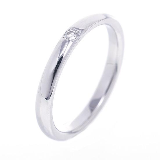 【値下げしました】ミキモト 指輪 レディース ダイヤ プラチナ リング DGR-1414R MIKIMOTO