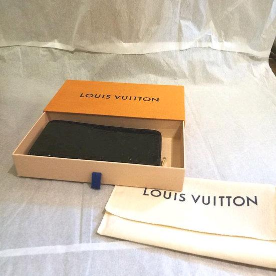 ルイヴィトン LOUIS VUITTON ヴェルニ ジッピーウォレット 長財布 101237