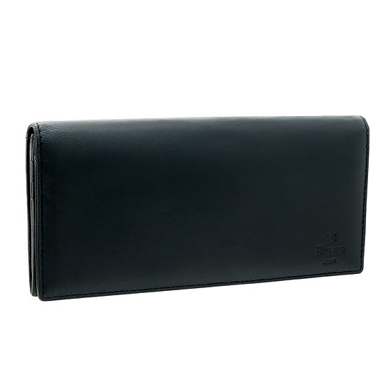 エレガンス 長財布 メンズ シープ革 ブラック Elegance