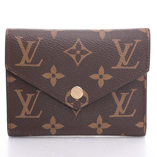 ルイ・ヴィトン 片面フラップ付き二つ折り財布M62472 難あり Louis Vuitton