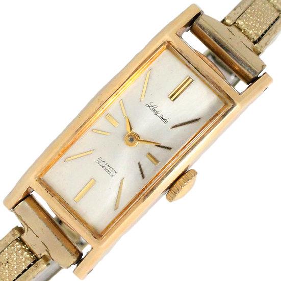 セイコー 時計 レディース レディセイコー 4044H ダイアショック19石 K14YG アンティーク SEIKO