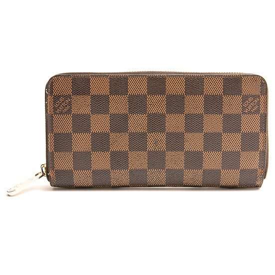 ルイ・ヴィトン 長財布 ジッピーウォレット ダミエ 旧型 N60015 Louis Vuitton
