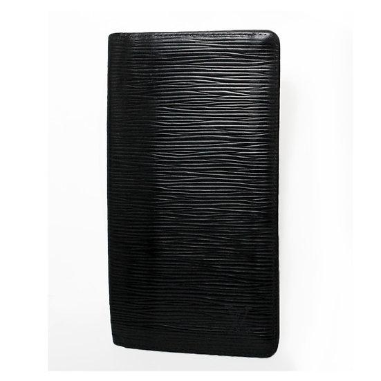 ルイ・ヴィトン ポルトカルトクレディ M63212 札入れ 円用  エピ カードポケット付き ノワール LOUIS VUITTON