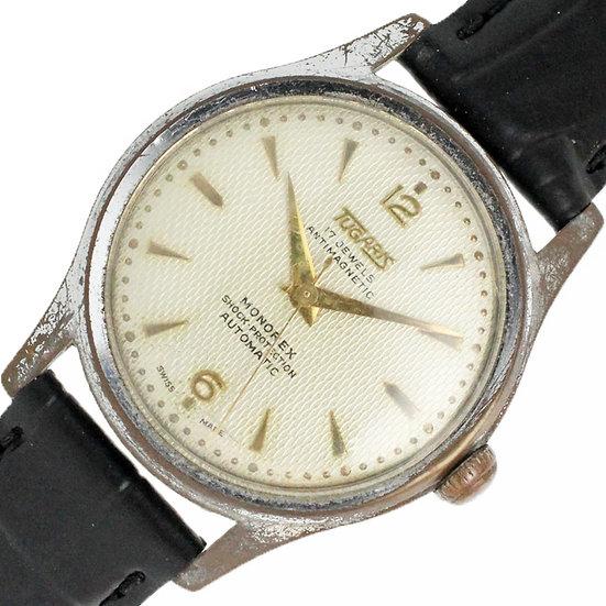 タガリス メンズ ボーイズ 時計 アンチマグネティック ショックプロテクション 自動巻き 17石 アンティーク tugaris