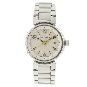 【値下げしました】ルイ・ヴィトン 時計 レディース タンブール Q121K SS クオーツ LOUIS VUITTON