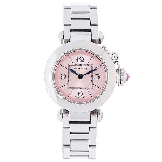 カルティエ 時計 レディース ミスパシャ SS W3140008 Cartier