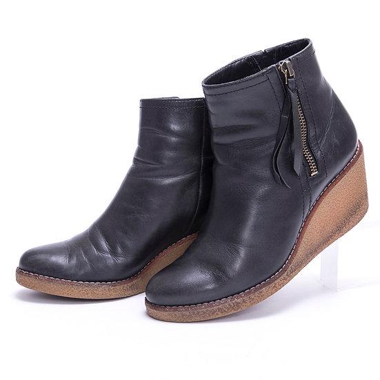 コールハーン ブーツ ショート オーデン auden ウェッジソール ウォータープルーフ COLE HAAN