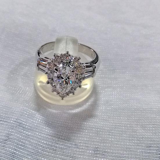 指輪 リング 天然ダイヤ