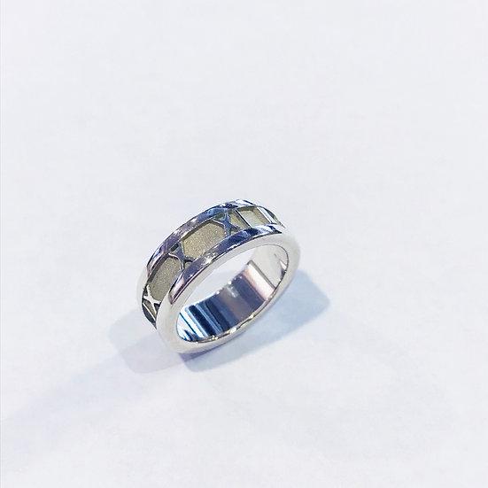 ティファニー 指輪 アトラスリング SV925 シルバー 7.5号 TIFFANY&Co