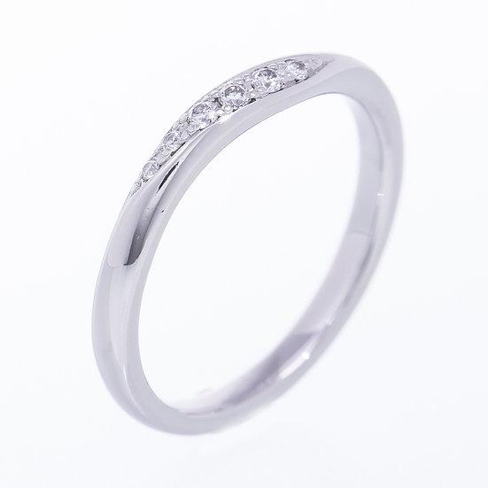 ヨンドシー リング 指輪 プラチナ ダイヤ Pt950 9号 4℃