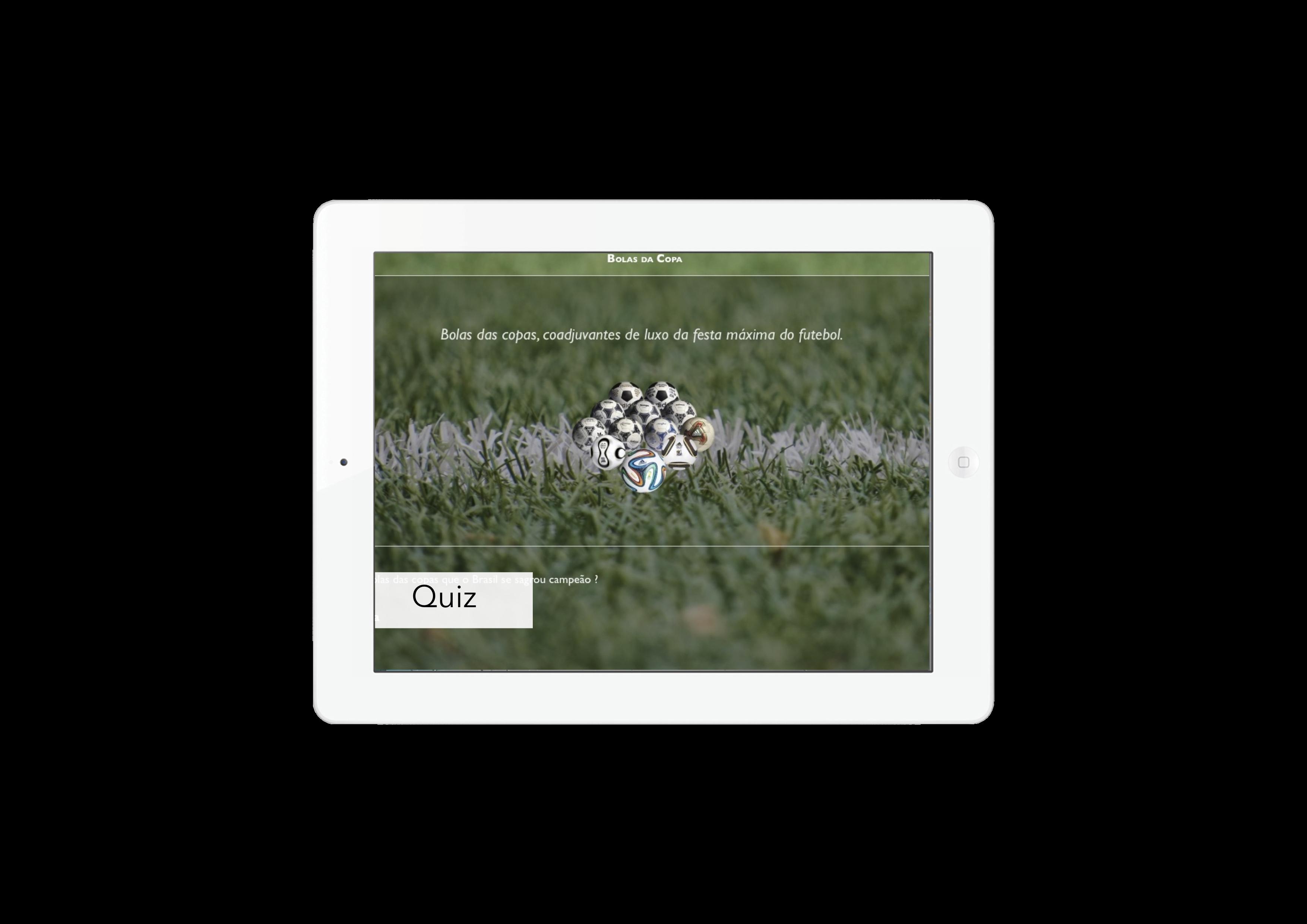 Quiz Bola das Copas