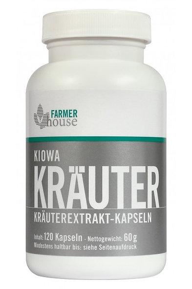 Kiowa Kräuterextrakt-Kapseln