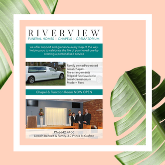 Riverview Funerals Advert
