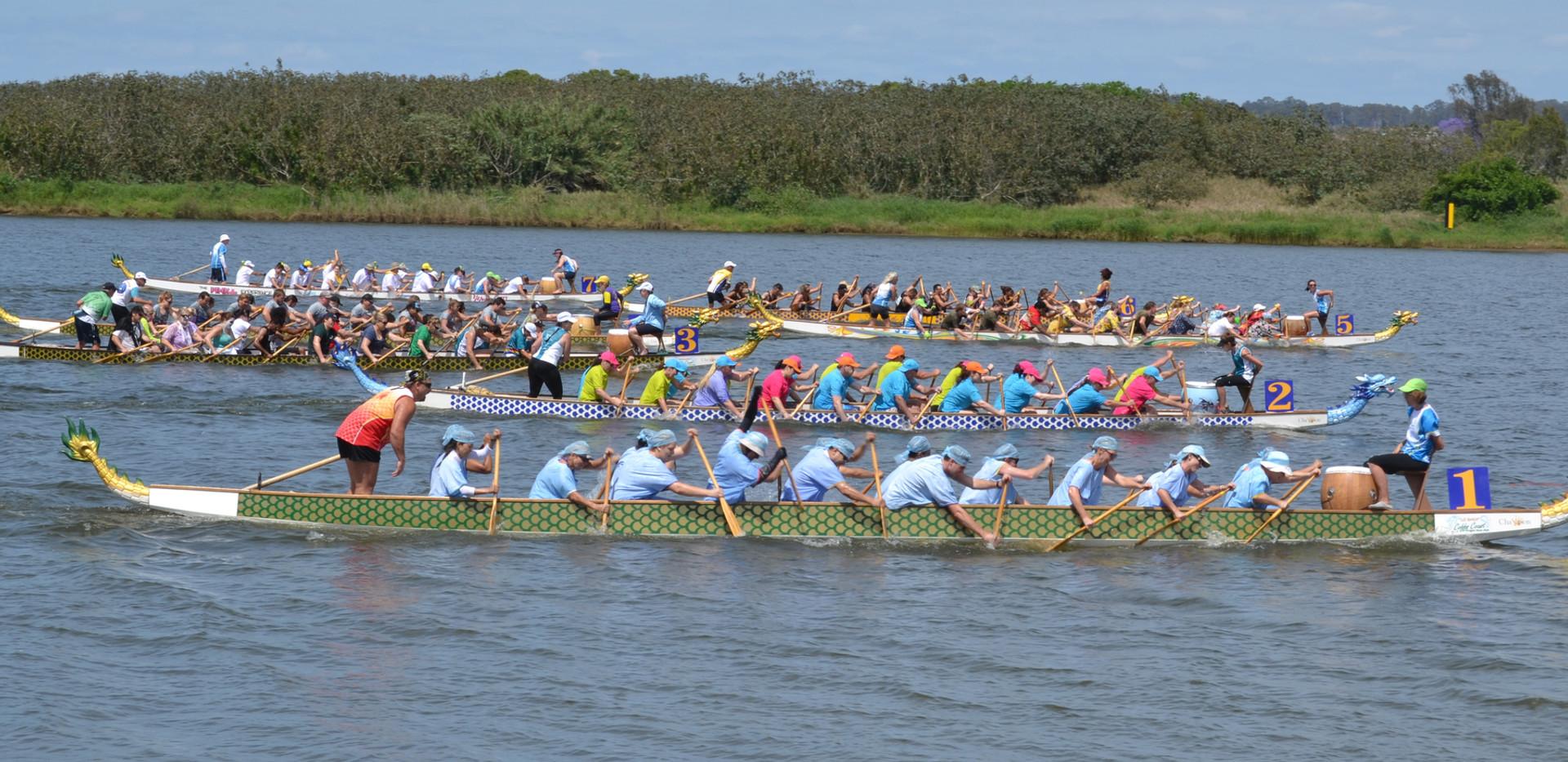 Jacaranda Dragon Boat Races