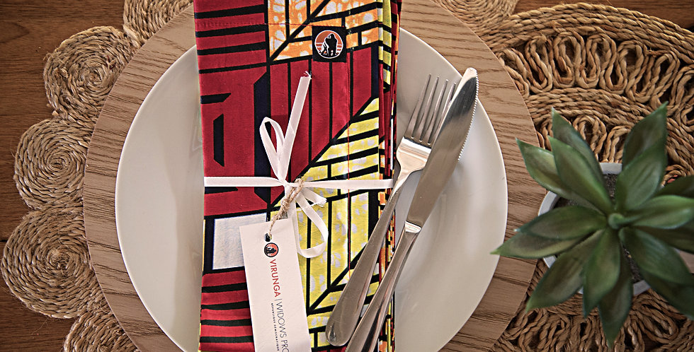 KITENGE NAPKINS/SET OF 6