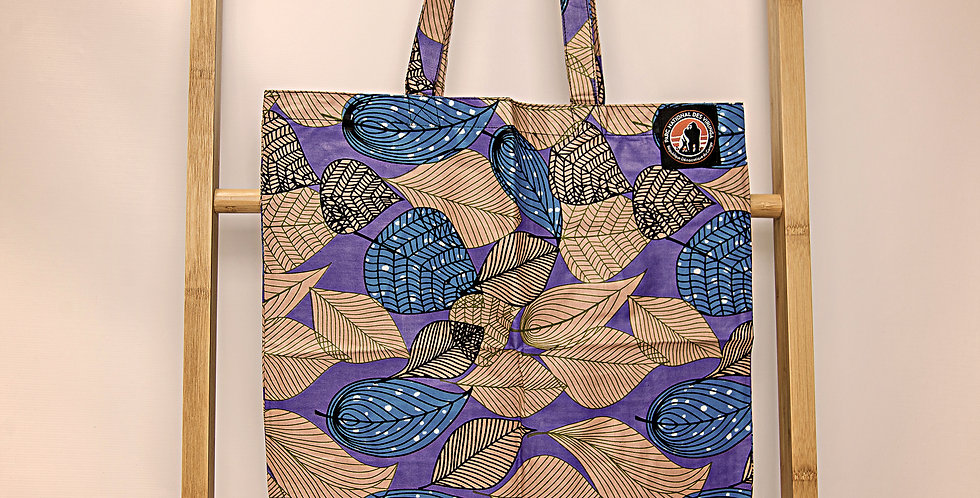 KITENGE SUSTAINABLE SHOPPING BAGS