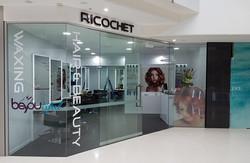 Ricochet shopfit