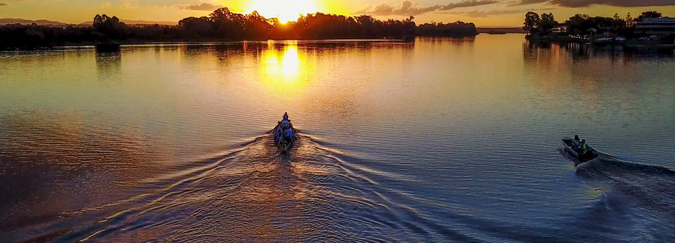 Training on the Mighty Clarence River