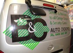B&C Auto Doors Van