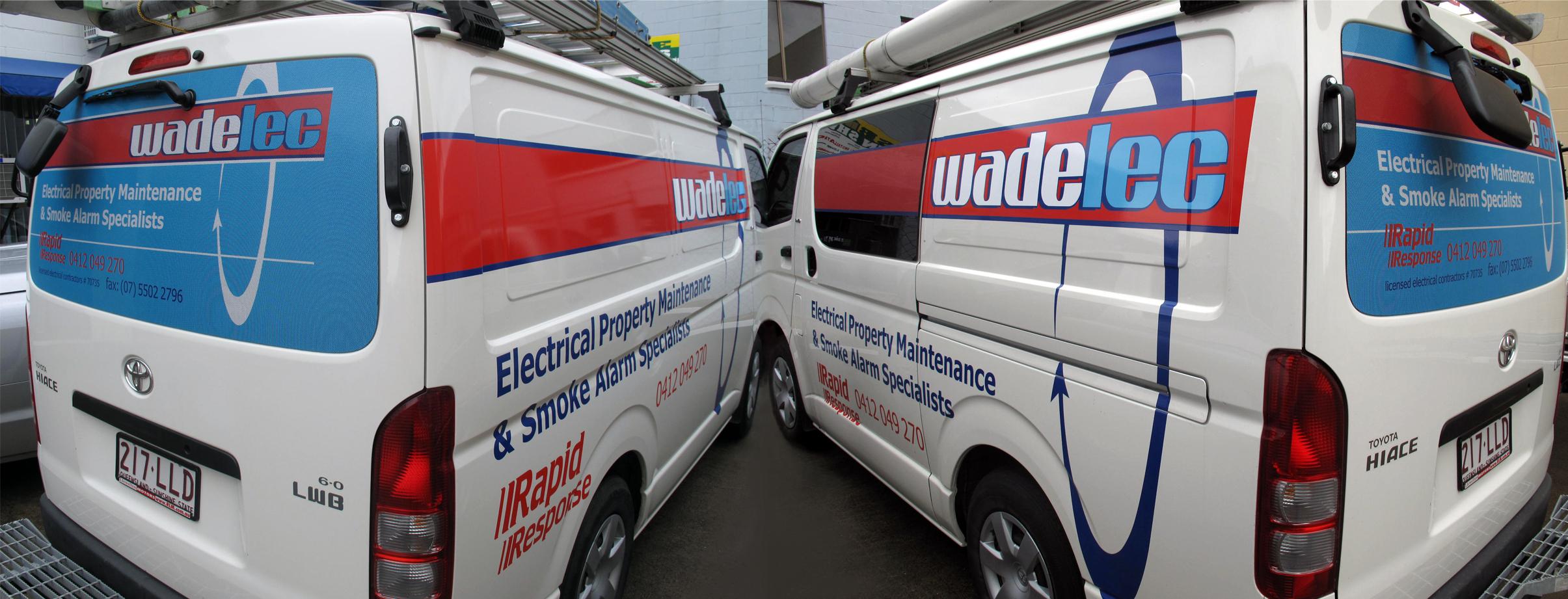 Wade Electrical Van