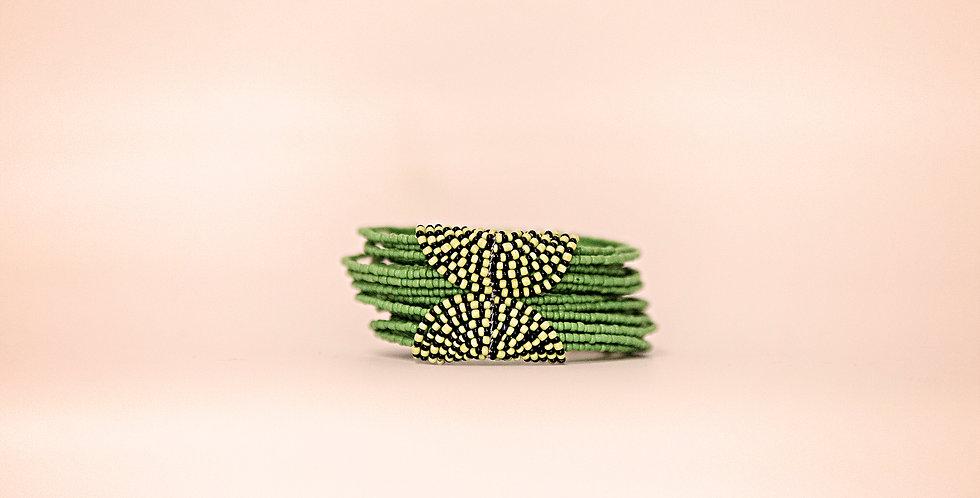 SERENGETI BRACELET (GREEN/BLACK)