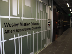 Wesley Mission Office Frosting
