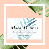 Mardi Dunbar Brand and Business Cards